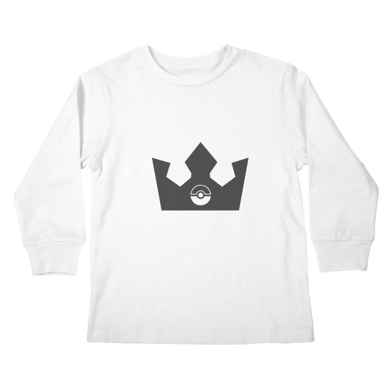 PokeMaan - Queen Of The Gym Kids Longsleeve T-Shirt by Silli Philli Produktionz