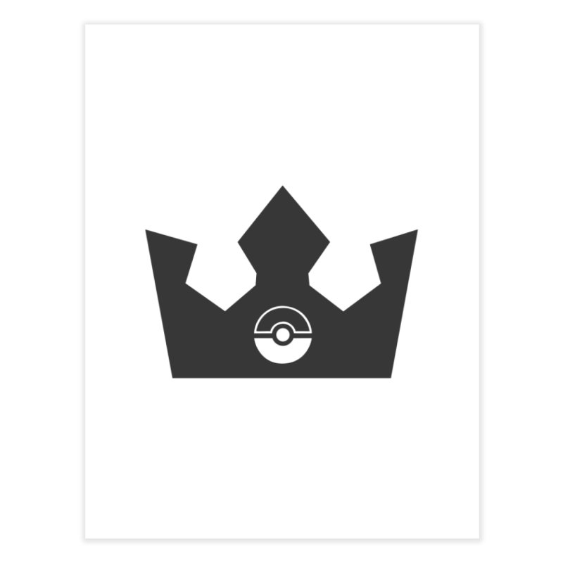 PokeMaan - Queen Of The Gym Home Fine Art Print by Silli Philli Produktionz | Custom Prints