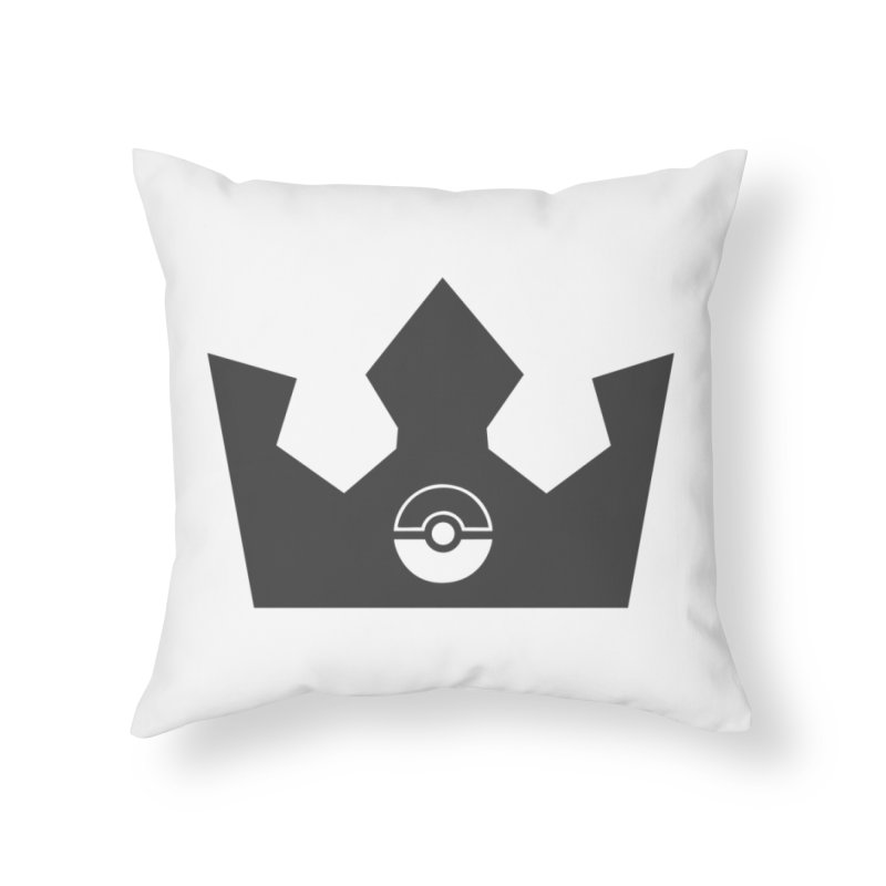 PokeMaan - Queen Of The Gym Home Throw Pillow by Silli Philli Produktionz