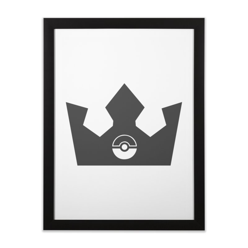 PokeMaan - Queen Of The Gym Home Framed Fine Art Print by Silli Philli Produktionz