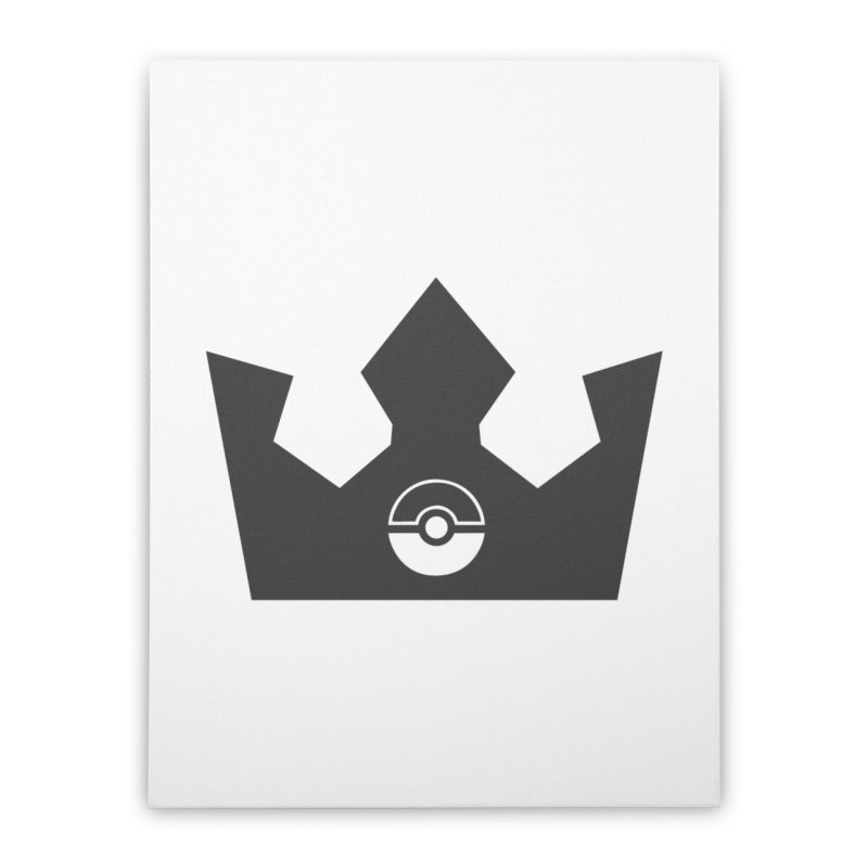 PokeMaan - Queen Of The Gym Home Stretched Canvas by Silli Philli Produktionz