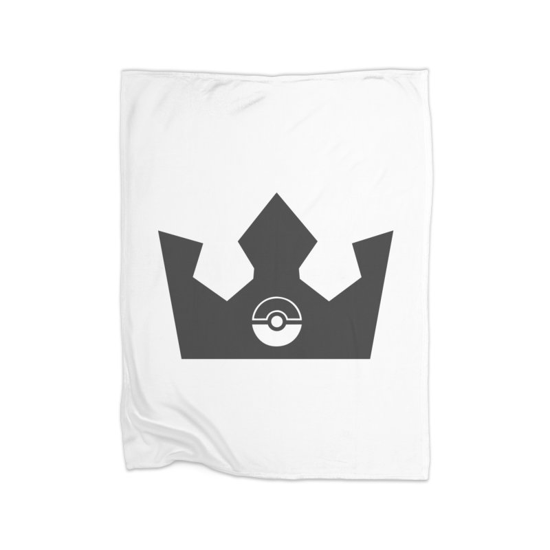 PokeMaan - Queen Of The Gym Home Fleece Blanket Blanket by Silli Philli Produktionz