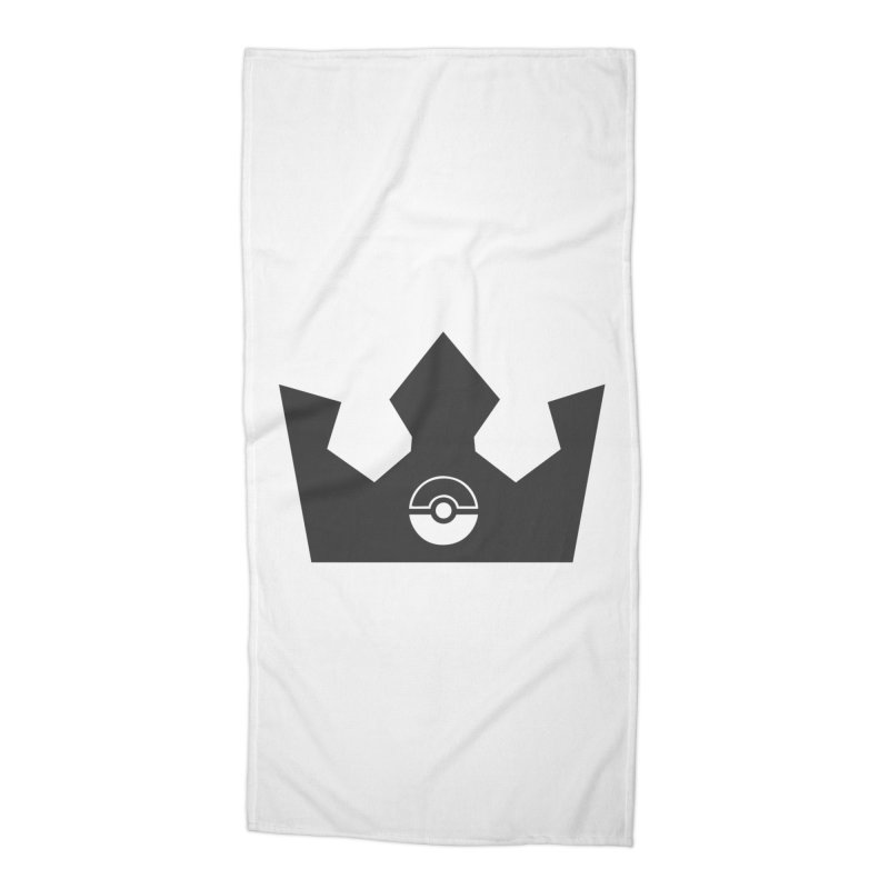 PokeMaan - Queen Of The Gym Accessories Beach Towel by Silli Philli Produktionz