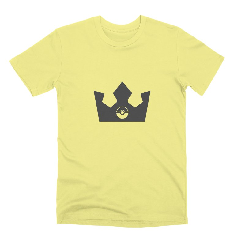 PokeMaan - King Of The Gym Men's Premium T-Shirt by Silli Philli Produktionz