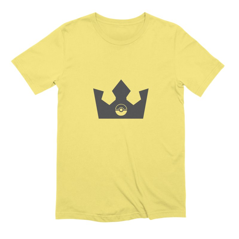 PokeMaan - King Of The Gym Men's Extra Soft T-Shirt by Silli Philli Produktionz