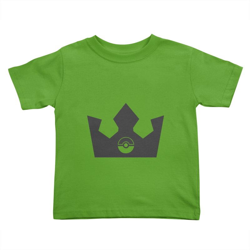 PokeMaan - King Of The Gym Kids Toddler T-Shirt by Silli Philli Produktionz | Custom Prints