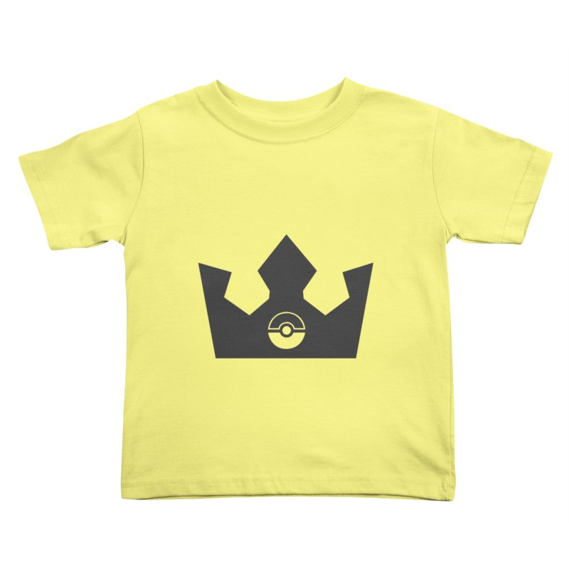 PokeMaan - King Of The Gym Kids Toddler T-Shirt by Silli Philli Produktionz