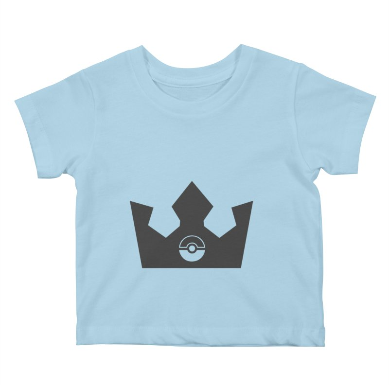 PokeMaan - King Of The Gym Kids Baby T-Shirt by Silli Philli Produktionz