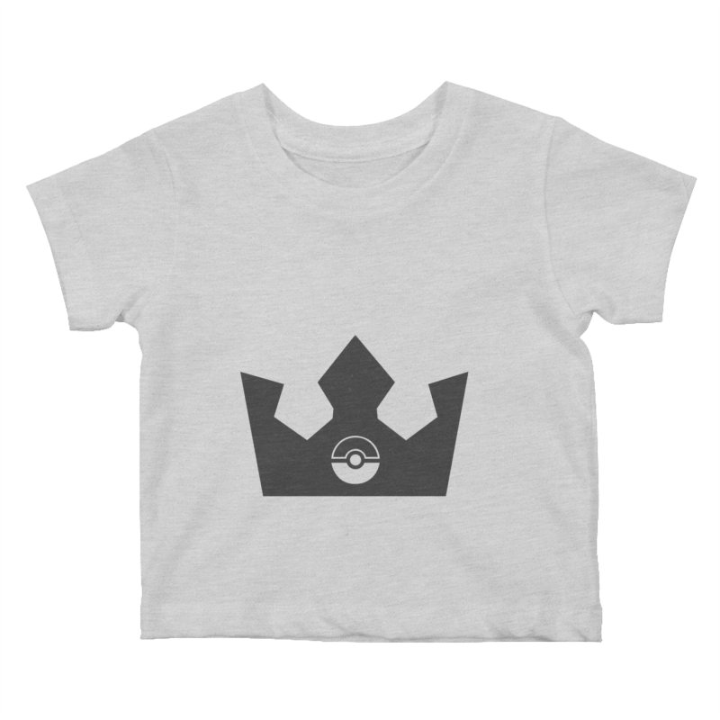 PokeMaan - King Of The Gym Kids Baby T-Shirt by Silli Philli Produktionz | Custom Prints