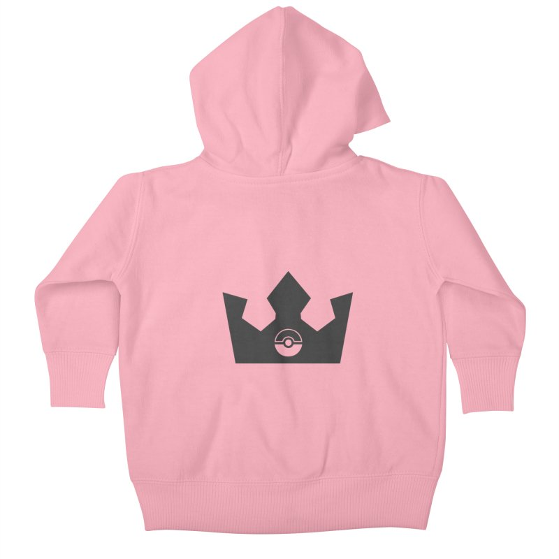 PokeMaan - King Of The Gym Kids Baby Zip-Up Hoody by Silli Philli Produktionz