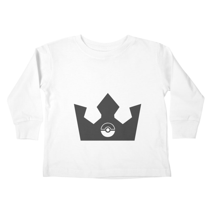 PokeMaan - King Of The Gym Kids Toddler Longsleeve T-Shirt by Silli Philli Produktionz