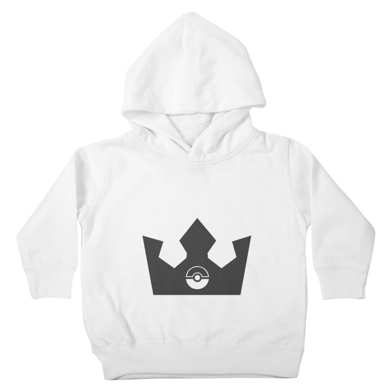 PokeMaan - King Of The Gym Kids Toddler Pullover Hoody by Silli Philli Produktionz