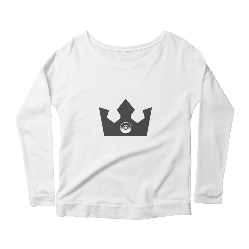 PokeMaan - King Of The Gym Women's Scoop Neck Longsleeve T-Shirt by Silli Philli Produktionz | Custom Prints