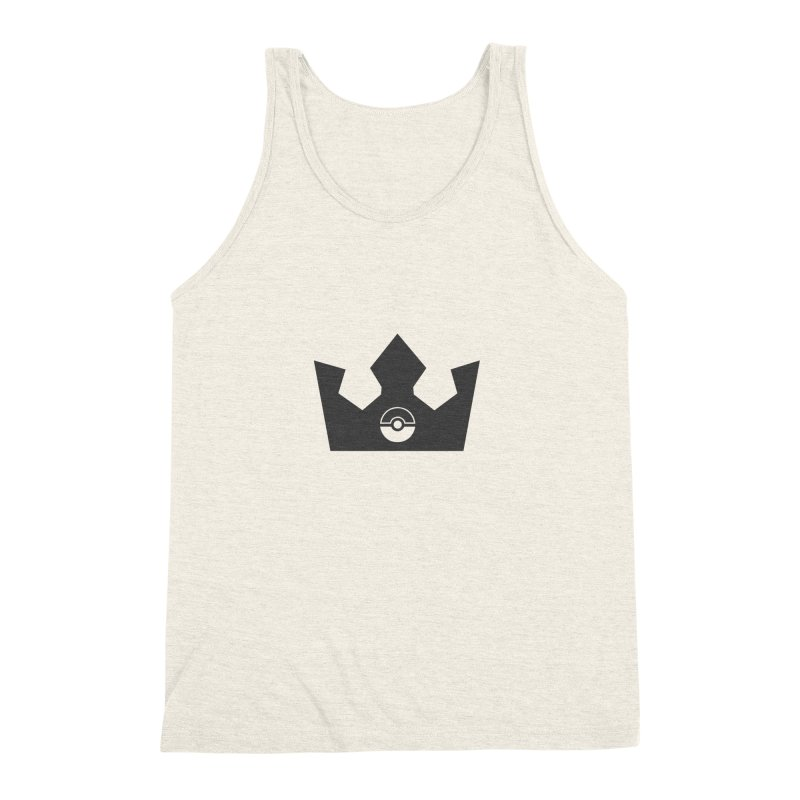 PokeMaan - King Of The Gym Men's Triblend Tank by Silli Philli Produktionz