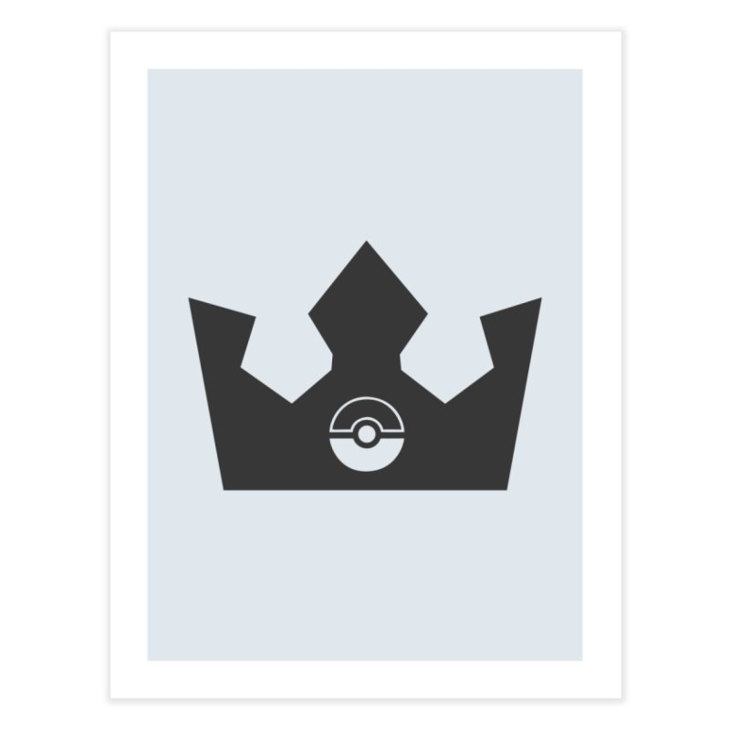 PokeMaan - King Of The Gym Home Fine Art Print by Silli Philli Produktionz