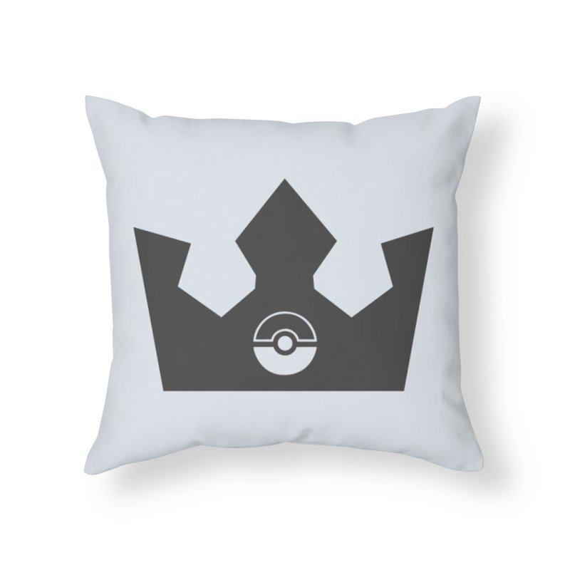 PokeMaan - King Of The Gym Home Throw Pillow by Silli Philli Produktionz