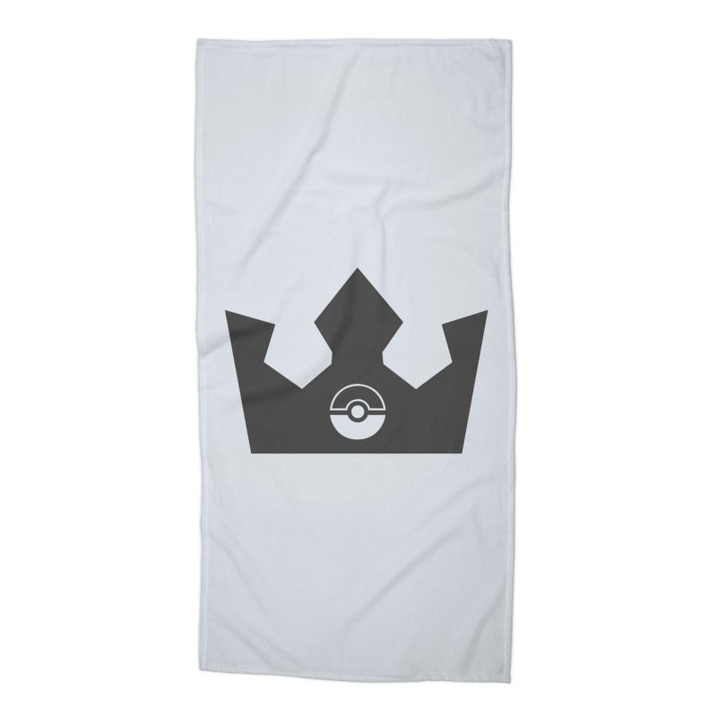 PokeMaan - King Of The Gym Accessories Beach Towel by Silli Philli Produktionz