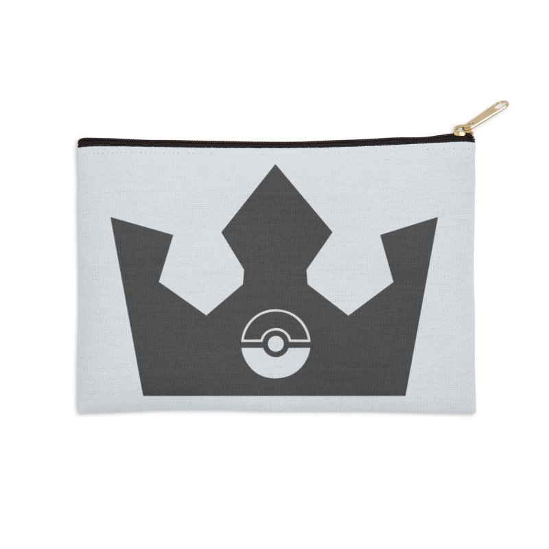 PokeMaan - King Of The Gym Accessories Zip Pouch by Silli Philli Produktionz