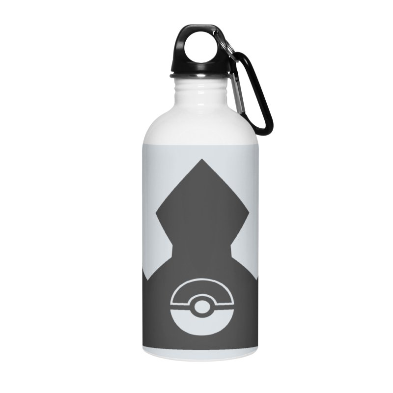 PokeMaan - King Of The Gym Accessories Water Bottle by Silli Philli Produktionz