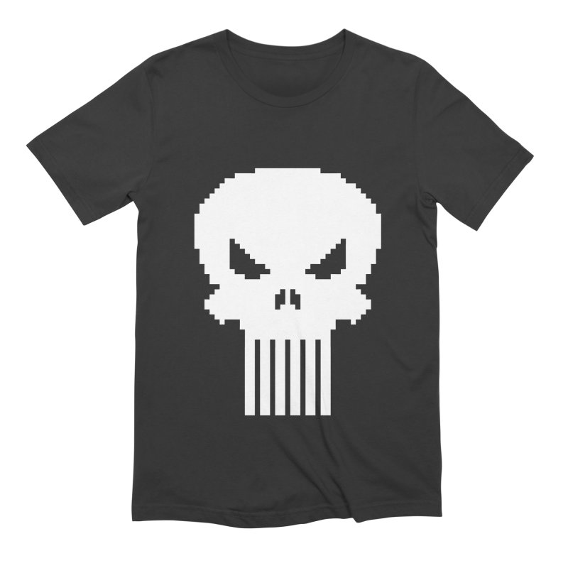 Punisher Classic - Pixel Logo Men's Extra Soft T-Shirt by Silli Philli Produktionz