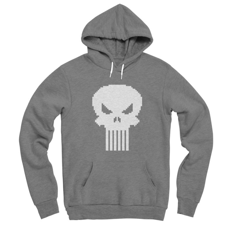 Punisher Classic - Pixel Logo Women's Pullover Hoody by Silli Philli Produktionz | Custom Prints
