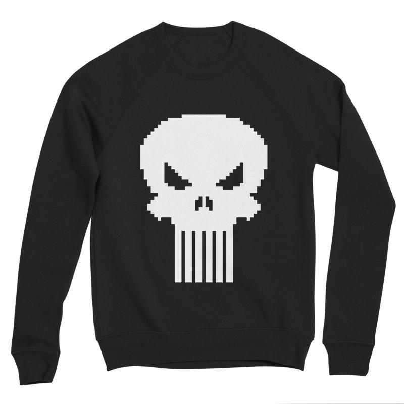 Punisher Classic - Pixel Logo Women's Sponge Fleece Sweatshirt by Silli Philli Produktionz