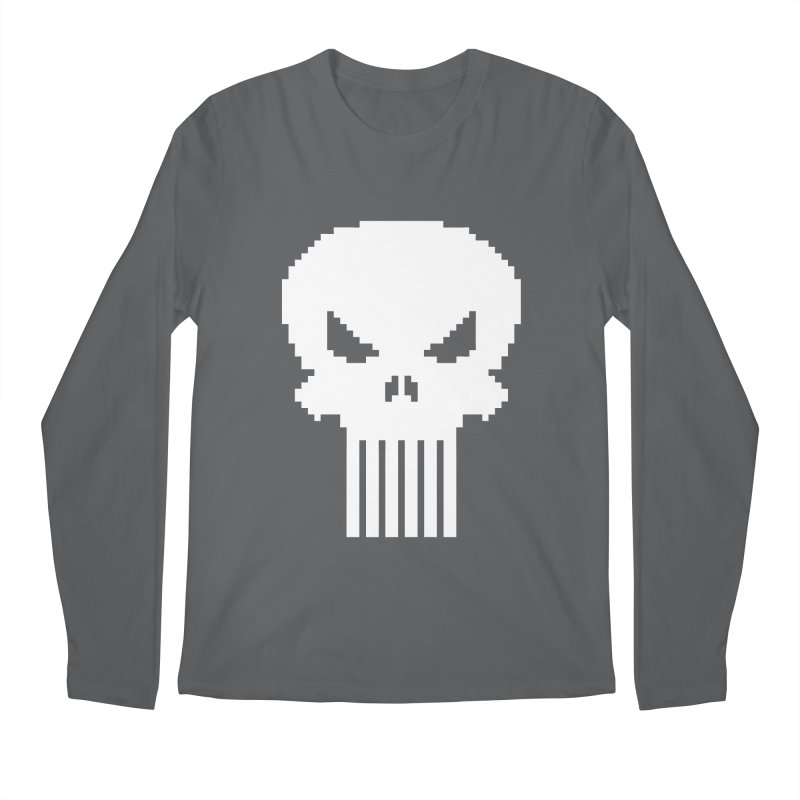 Punisher Classic - Pixel Logo Men's Longsleeve T-Shirt by Silli Philli Produktionz | Custom Prints