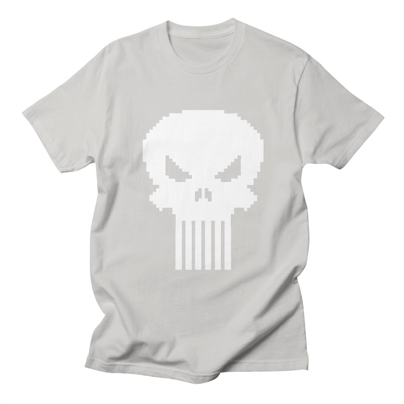 Punisher Classic - Pixel Logo Women's Regular Unisex T-Shirt by Silli Philli Produktionz