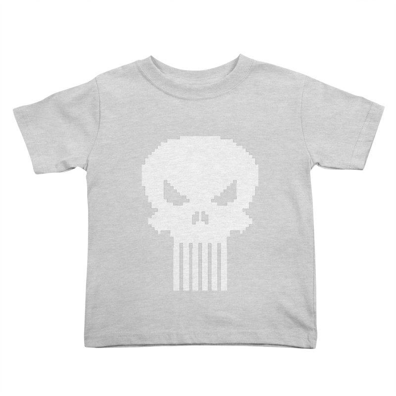 Punisher Classic - Pixel Logo Kids Toddler T-Shirt by Silli Philli Produktionz