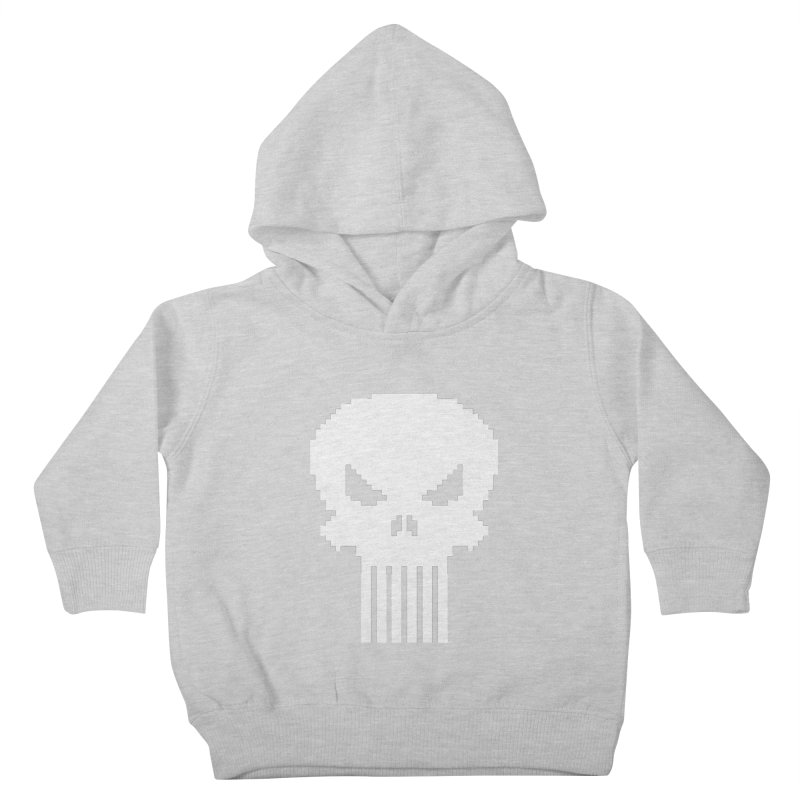 Punisher Classic - Pixel Logo Kids Toddler Pullover Hoody by Silli Philli Produktionz | Custom Prints
