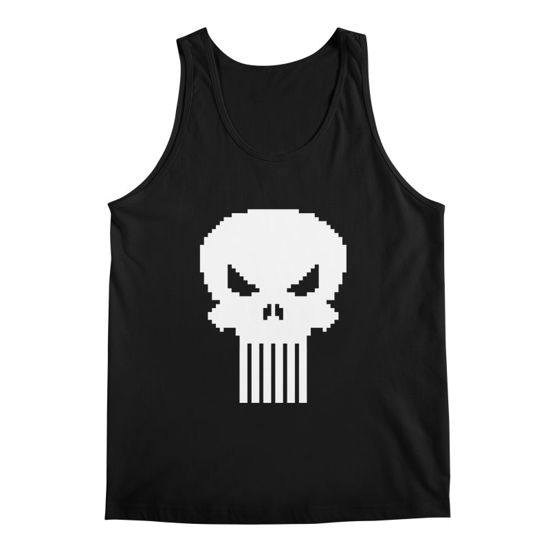Punisher Classic - Pixel Logo Men's Regular Tank by Silli Philli Produktionz