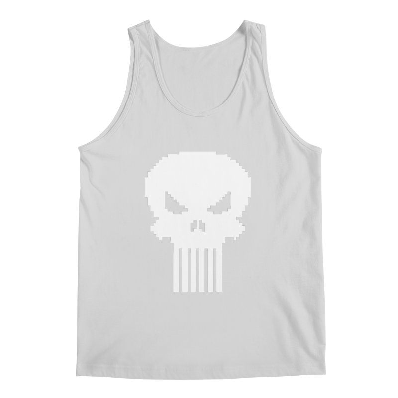 Punisher Classic - Pixel Logo Men's Regular Tank by Silli Philli Produktionz