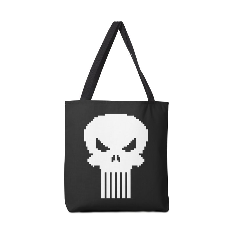 Punisher Classic - Pixel Logo Accessories Bag by Silli Philli Produktionz