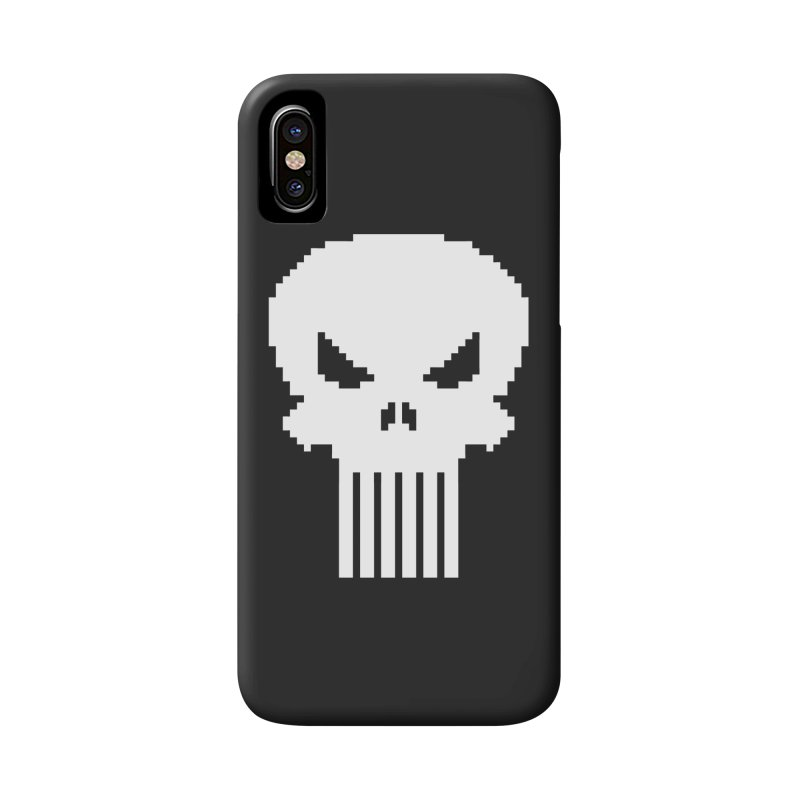 Punisher Classic - Pixel Logo Accessories Phone Case by Silli Philli Produktionz