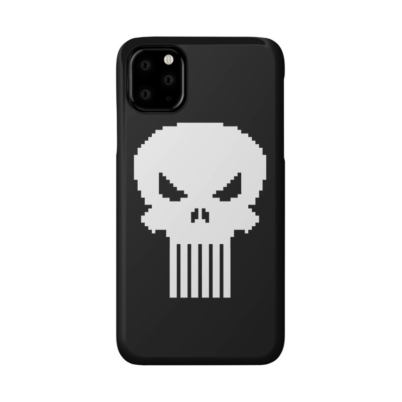 Punisher Classic - Pixel Logo Accessories Phone Case by Silli Philli Produktionz | Custom Prints