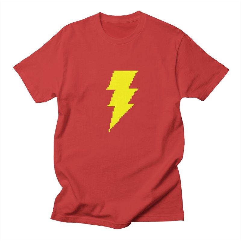 Captain Marvel - Pixel Logo Men's T-Shirt by Silli Philli Produktionz   Custom Prints