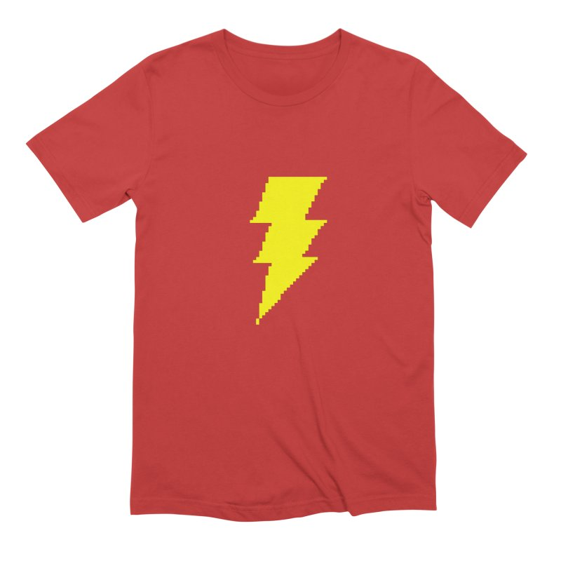Captain Marvel - Pixel Logo Men's Extra Soft T-Shirt by Silli Philli Produktionz