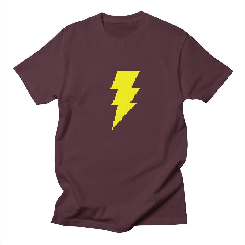 Captain Marvel - Pixel Logo Women's Regular Unisex T-Shirt by Silli Philli Produktionz