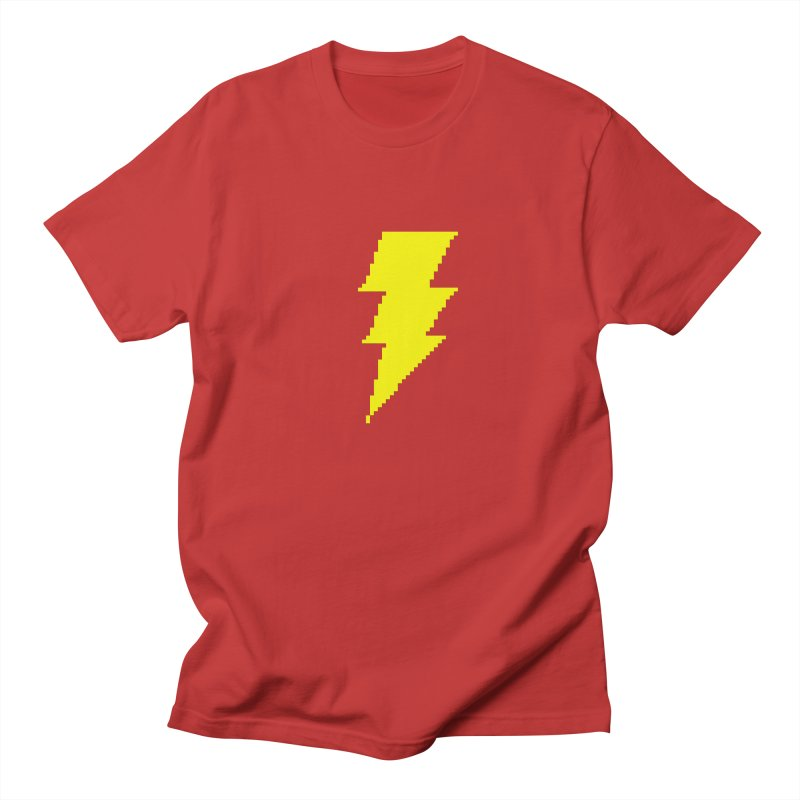 Captain Marvel - Pixel Logo Men's T-Shirt by Silli Philli Produktionz | Custom Prints