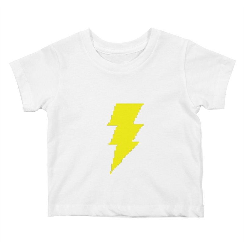 Captain Marvel - Pixel Logo Kids Baby T-Shirt by Silli Philli Produktionz