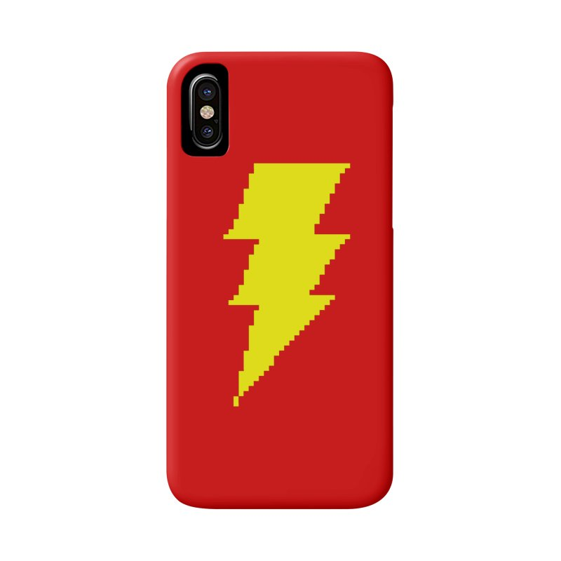 Captain Marvel - Pixel Logo Accessories Phone Case by Silli Philli Produktionz