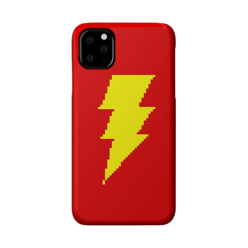 Captain Marvel - Pixel Logo Accessories Phone Case by Silli Philli Produktionz | Custom Prints