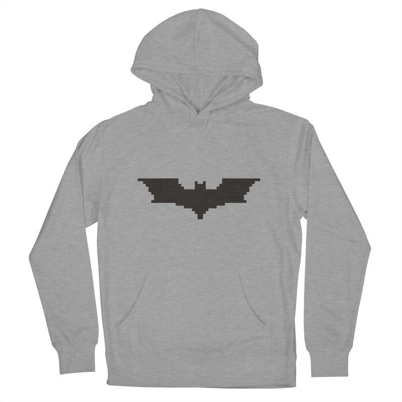 Batman Begins - Pixel Logo Men's Pullover Hoody by Silli Philli Produktionz | Custom Prints