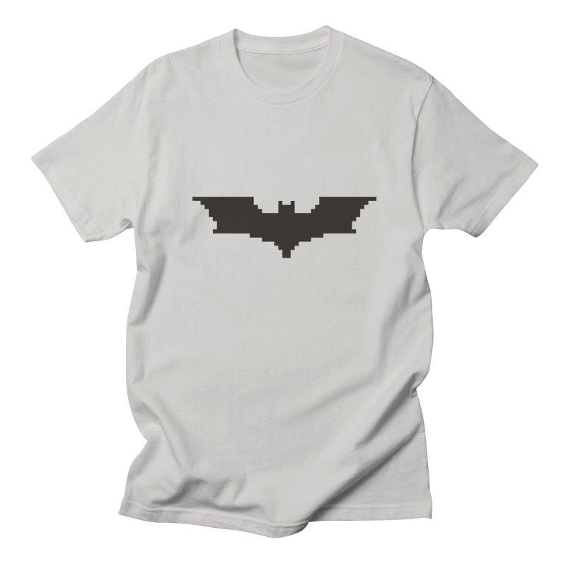Batman Begins - Pixel Logo Women's Regular Unisex T-Shirt by Silli Philli Produktionz