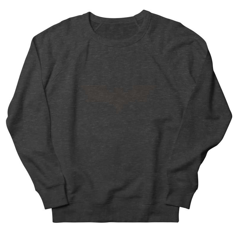 Batman Begins - Pixel Logo Women's French Terry Sweatshirt by Silli Philli Produktionz