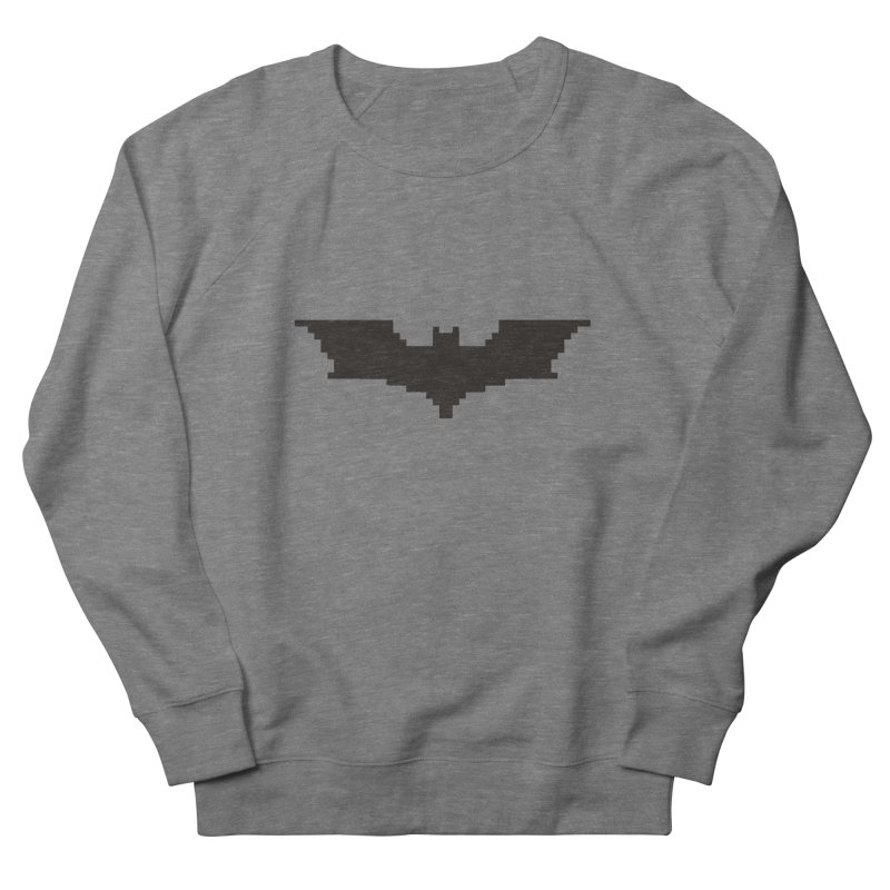 Batman Begins - Pixel Logo Men's Sweatshirt by Silli Philli Produktionz | Custom Prints