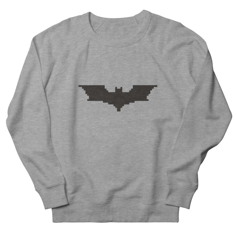 Batman Begins - Pixel Logo Men's French Terry Sweatshirt by Silli Philli Produktionz | Custom Prints