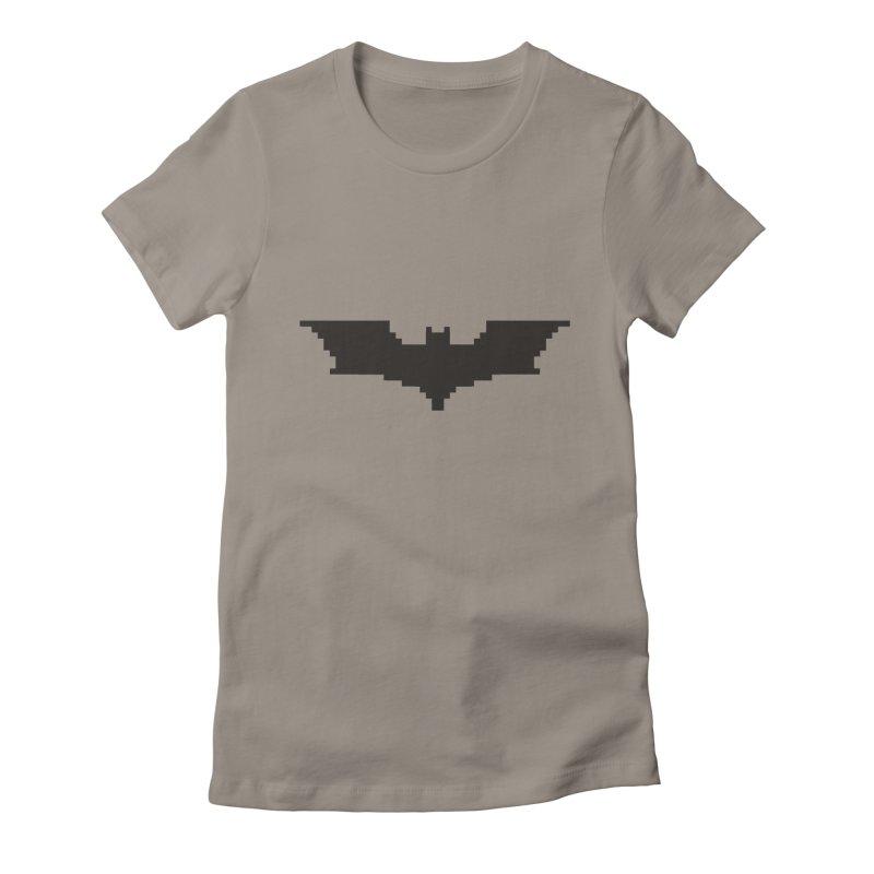 Batman Begins - Pixel Logo Women's T-Shirt by Silli Philli Produktionz