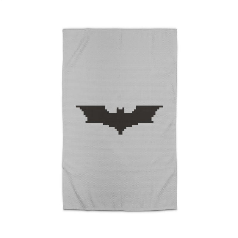 Batman Begins - Pixel Logo Home Rug by Silli Philli Produktionz