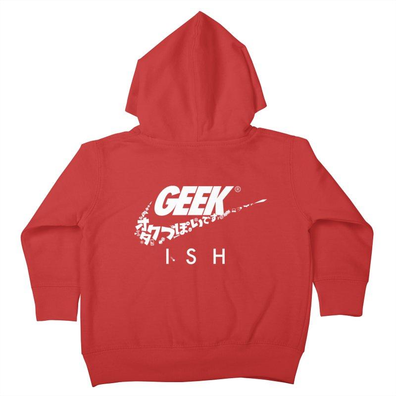 GeekIsh Kids Toddler Zip-Up Hoody by Silli Philli Produktionz | Custom Prints